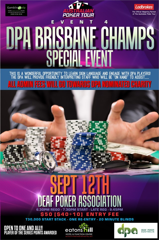 Poker Tournament Brisbane